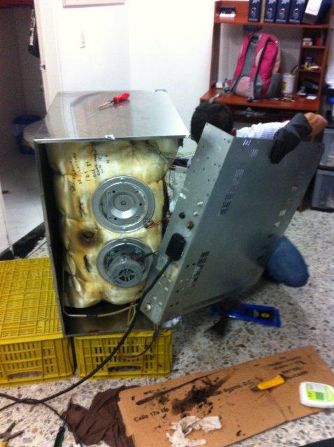 mantenimiento horno