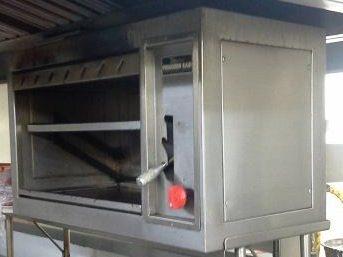 Servicios de mantenimiento y reparación de SALAMANDRAS y GRATINADORES industriales con servicio técnico