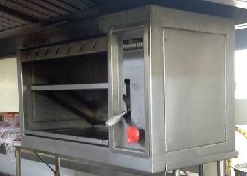 mantenimiento / reparacion salamandras industriales / de restaurantes