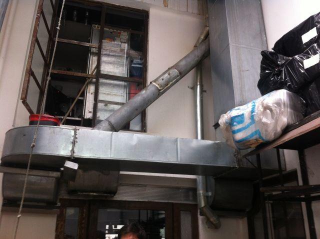 los sistemas de extracción en restaurantes