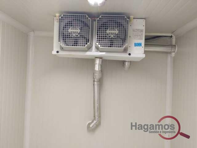 Servicio de Desmontaje y desinstalación de cuartos fríos en Bogotá